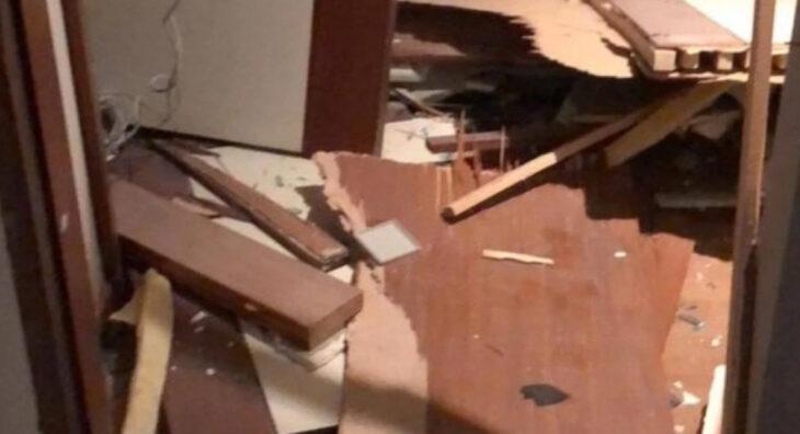 La explosión en Beirut causó importantes daños en la Embajada argentina