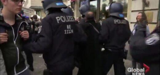 Coronavirus: por violar las reglas sanitarias, una manifestación anticuarentena fue dispersa en Berlín