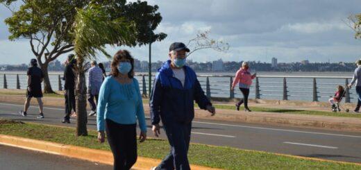 Coronavirus: recuerdan horarios, lugares habilitados y recomendaciones para realizar caminatas recreativas en Posadas