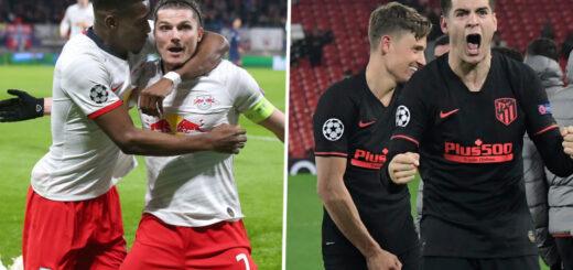 Atlético de Madrid y Leipzig buscan un lugar en las semifinales de la Liga de Campeones