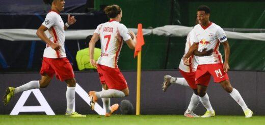 El Leipzig dejó en el camino al Atlético Madrid de Simeone y avanzó a semifinales de la Champions League