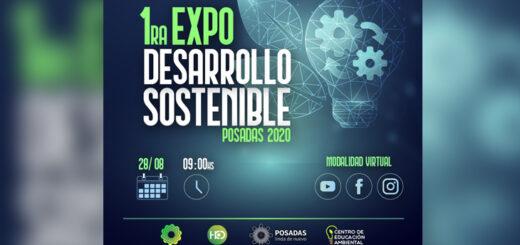 Este viernes se realiza la primera expo de Desarrollo Sostenible de Posadas