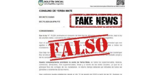 El INYM aclara que es falsa la supuesta prohibición de venta de yerba mate