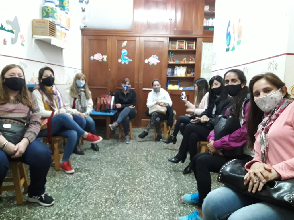 Reunión entre directoras de jardines maternales