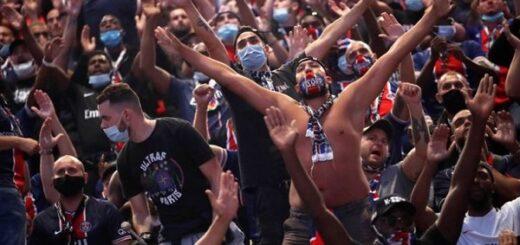 Champions League: en medio del rebrote de coronavirus en Francia, miles de hinchas del PSG se reunieron a ver la final