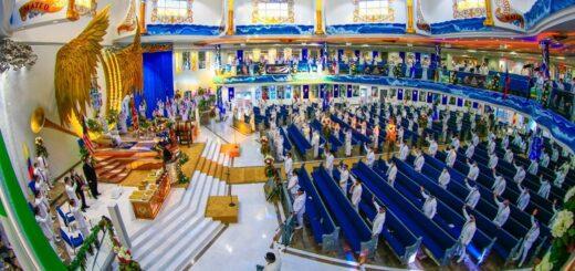 La Iglesia La Luz del Mundo realizó anoche la celebración de la Santa Cena 2020 de manera virtual