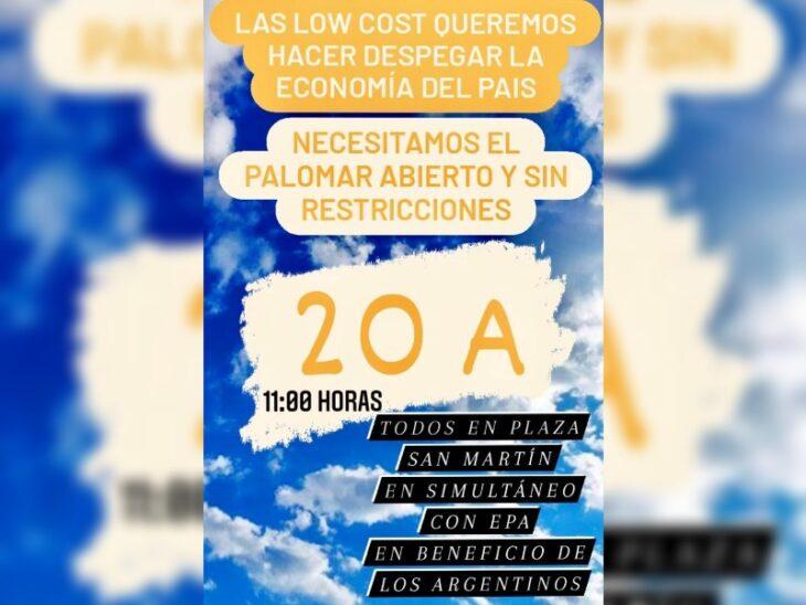 Trabajadores de laslíneas aéreas Low Cost se movilizarán en Iguazú