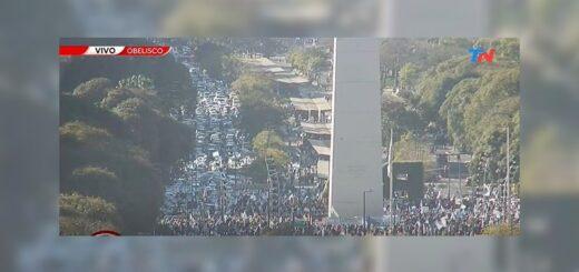 #17A: se realiza la marcha opositora contra el Gobierno nacional