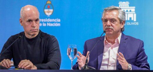 Coronavirus: Alberto Fernández y Horacio Rodríguez Larreta se reunieron en Olivos