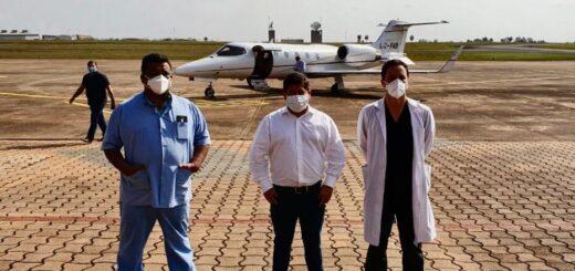 Coronavirus: médicos de Misiones de Terapia Intensiva vuelan a Jujuy para ayudar a los afectados por la pandemia