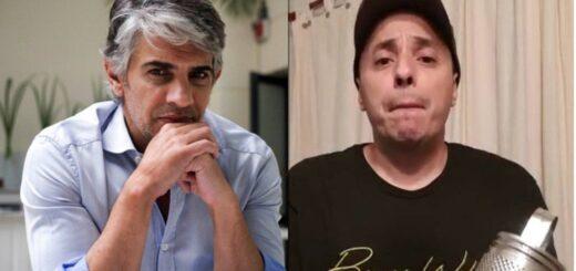 """La pelea entre Pablo Echarri y """"El Dipy"""" por el lenguaje inclusivo: """"Sos terrible ortiva"""""""