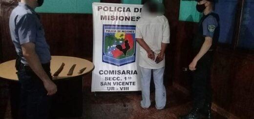 San Vicente: irrumpió en la casa de su vecina, la atacó con un machete y fue detenido