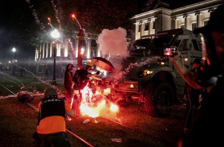 Estados Unidos: disturbios y tiroteos durante las protestas en Wisconsin