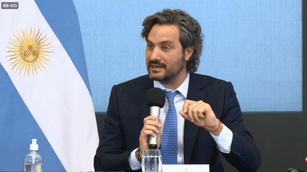"""Santiago Cafiero expresó su """"preocupación"""" por el escrache que sufrió Ricardo Lorenzetti en su domicilio"""