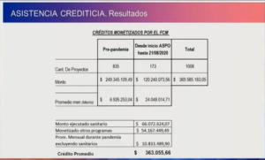 """Presupuesto 2021: destinarán 823.680.000 de pesos al Fondo de Crédito de Misiones, """"para atender un mayor flujo de solicitudes"""", explicó Simes"""