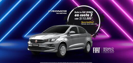 """Fiat Plan se suma a la campaña """"Es tiempo de Cronos"""""""