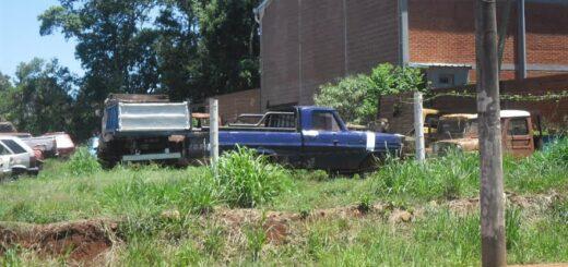 Vea el listado de autos, motos, camiones y camionetas que se compactarán en Eldorado