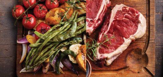 """Veganos vs carnívoros: señalan que """"ninguna nutrición saludable es a base de un sólo tipo de alimentos"""""""