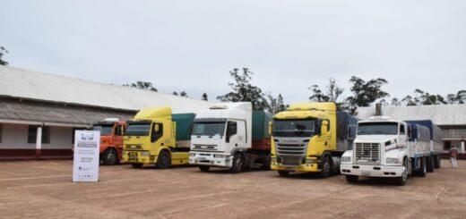 Interceptan en Santo Tomé 142 toneladas de soja con documentación apócrifa que tenía como destino Misiones