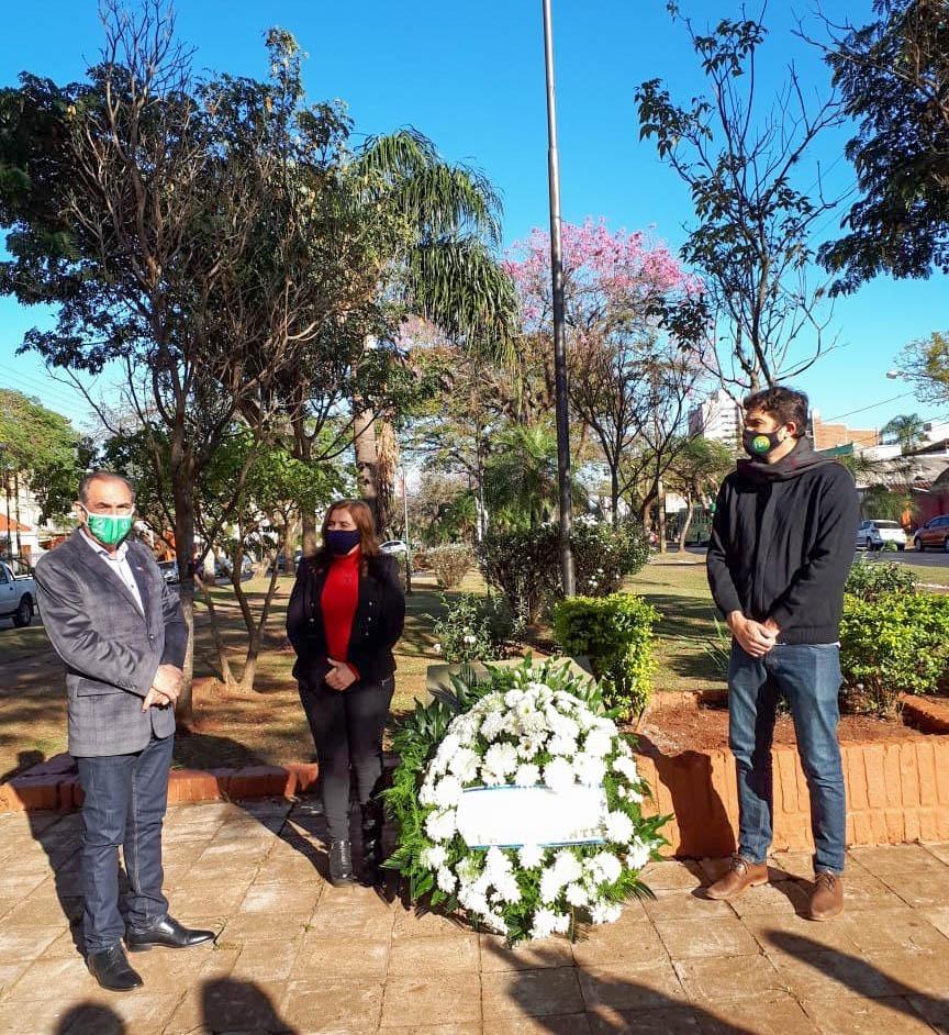 Posadas: Leonardo Stelatto homenajeó a los inmigrantes en su día