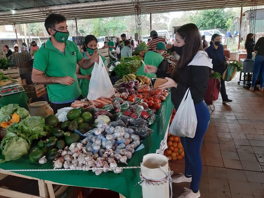 La Feria Franca de Posadas celebró hoy su 22° aniversario