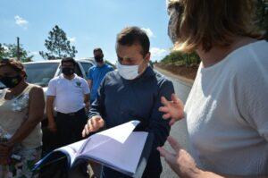 El Gobernador de Misiones supervisó obras de asfaltado en Almafuerte