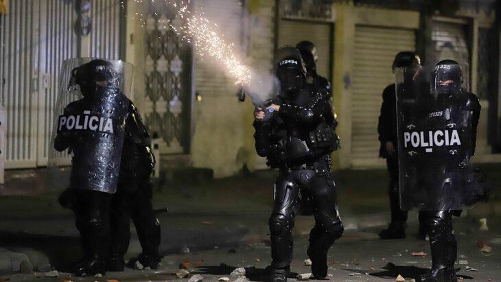 Otro muerto y ya suman 11 por las protestas en Colombia contra la violencia policial