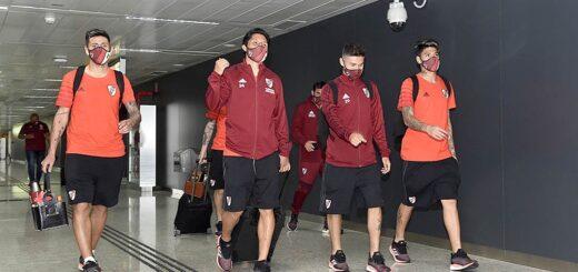 River: el plantel de Gallardo viajó a Lima con el equipo casi completo para jugar la Copa Libertadores