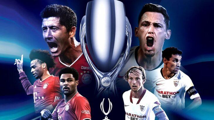 Sevilla va por la hazaña ante Bayern Múnich en la Supercopa Europea