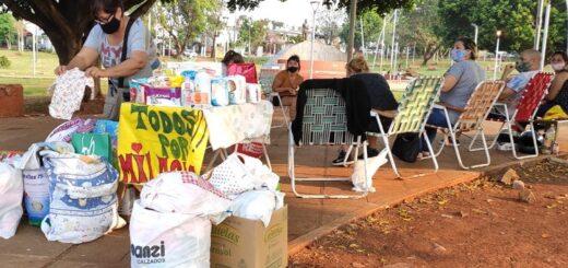 """Vecinos de Villa Cabello se movilizan para recaudar suministros para la beba apuñalada y abandonada: """"Los misioneros somos muy unidos"""", comentaron"""