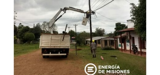 Este domingo se producirán cortes de luz en distintas localidades misioneras