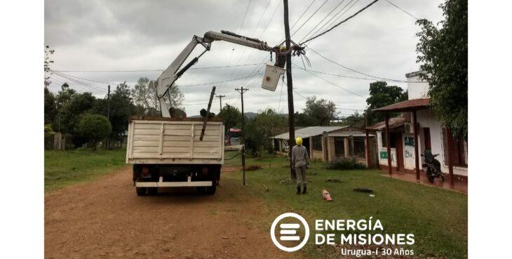Este martes se producirán cortes de luz en distintas localidades misioneras