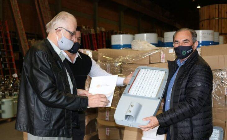El Intendente de Posadas firmó un convenio con Energía de Misiones