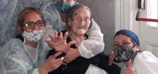 Conocé la historia de Yoli, una mujer que superó el coronavirus a días de cumplir 110 años