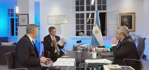 Alberto Fernández volvió a desmentir un supuesto plan de aumento en el impuesto a las ganancias