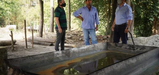 El IFAI asistió a productores en Los Helechos y capacitarán a otros trabajadores en la localidad de Dos Arroyos