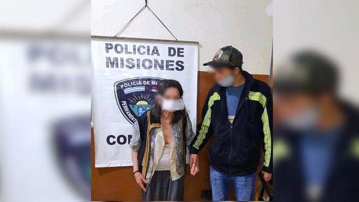 Un familiar buscó en la comisaría a la mujer hallada desorientada en la vía pública en Posadas