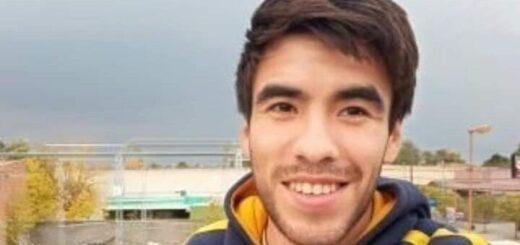 Facundo Astudillo Castro: un pescador encontró una mochila con dos celulares y el carnet de conducir del joven