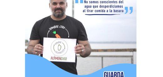 """Gionás Borboy, uno de los Guarda Aguas de Misiones que rescata alimentos: """"No somos conscientes del agua que desperdiciamos al tirar comida a la basura"""""""