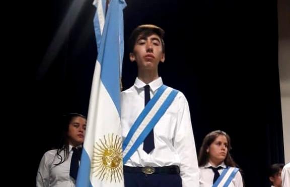 """Mejor Promedio: Sebastián Matías Heredia, de San Luis, es uno de los ganadores de la """"Beca De La Finca"""" de Secundarias del Resto del País"""
