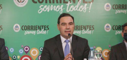 Coronavirus: Santo Tomé regresó a Fase 3 y Corrientes capital restringe actividades, según informó el gobernador Gustavo Valdés