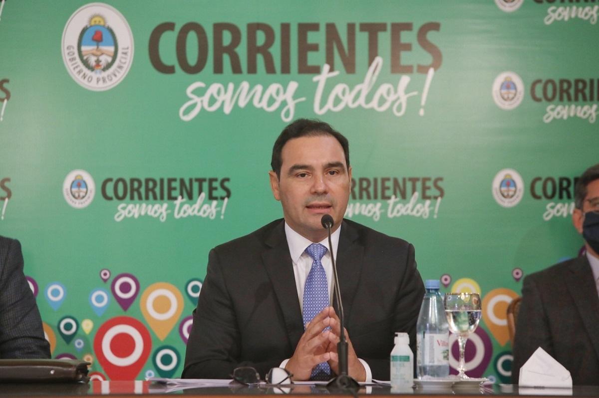 Gustavo Valdés anunció retrocesos de fases en el interior y medidas restrictivas para Capital