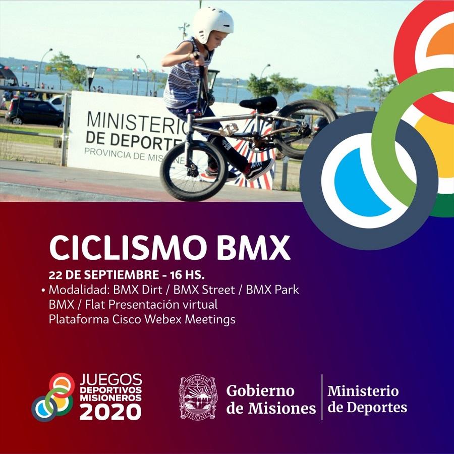 """Los """"Bikers"""" tendrán su estreno en los Juegos Deportivos Misioneros"""