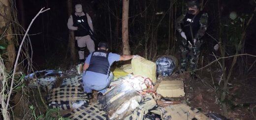 Prefectura secuestró más de 580 kilos de marihuana en Misiones