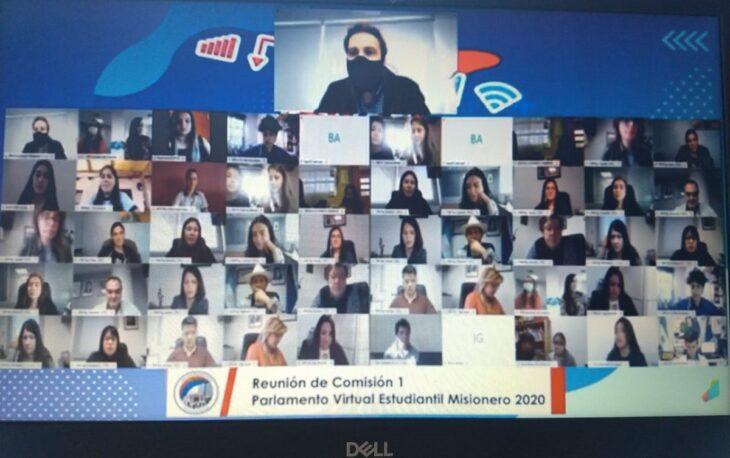 El Parlamento Virtual Estudiantil 2020 aprobó en la Comisión 1, hace instantes, el primer dictamen sobre conectividad rural