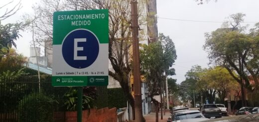 más calles de Posadas con estacionamiento pago