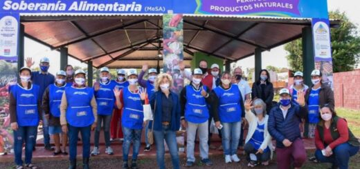Se inauguró el primer Mercado de la Soberanía Alimentaria en San Pedro