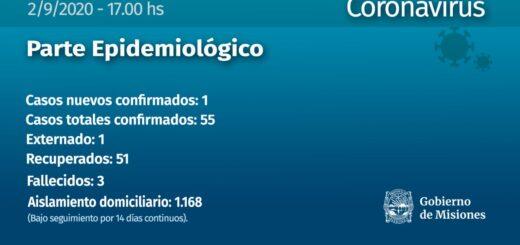 Coronavirus en Misiones: confirmaron un nuevo caso en Puerto Rico y aguardan resultados de contactos directos del bancario posadeño y su hermano de Apóstoles que dieron positivo en Entre Ríos