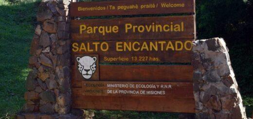Por los casos de coronavirus en Aristóbulo del Valle, se cierra al público el Parque Provincial Salto Encantado