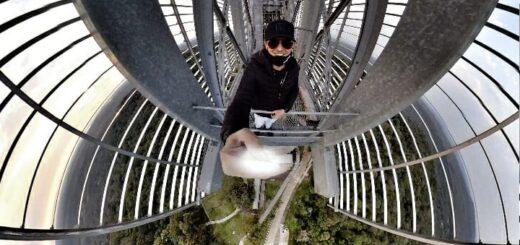 El Dj Guillermo Atencio pondrá música en el monumento más alto de la Argentina